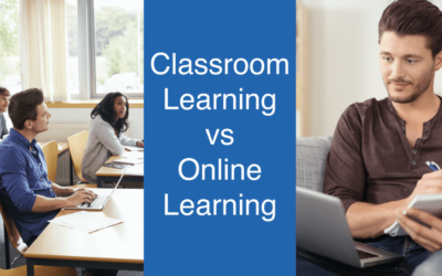 Classroom or online learning, you decide.
